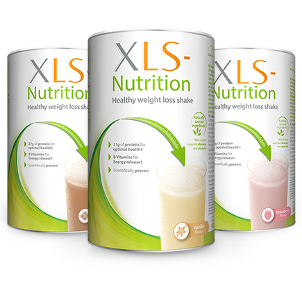 Xls Nutrition Weight Loss Shake Strawberry Vanilla Chocolate