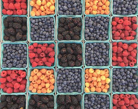 Food image with vitamins
