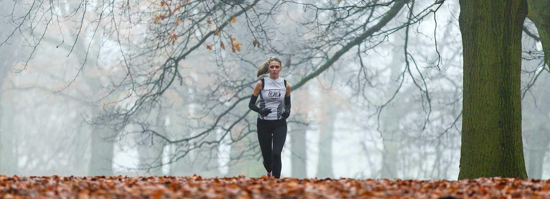 Runner in Richmond Park