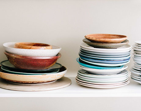 Pile of plates
